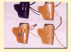 Bond Western leather holsters