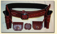 JLillis leather gunbelts and holsters
