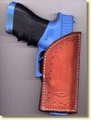 Crossdraw leather holsters