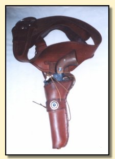 leather products, leather gunbelts